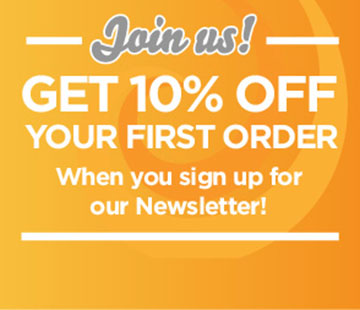 Join us and get 10% off your first Order