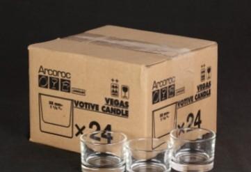 box x 24 glass tealight holders.JPG