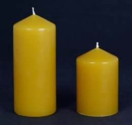 Beeswax Pillars 65mm