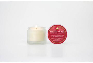 Flicker Nicola Anne Moisturising spa candle with pomegranite and sage