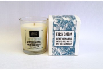 French Cotton Soy Candle with box
