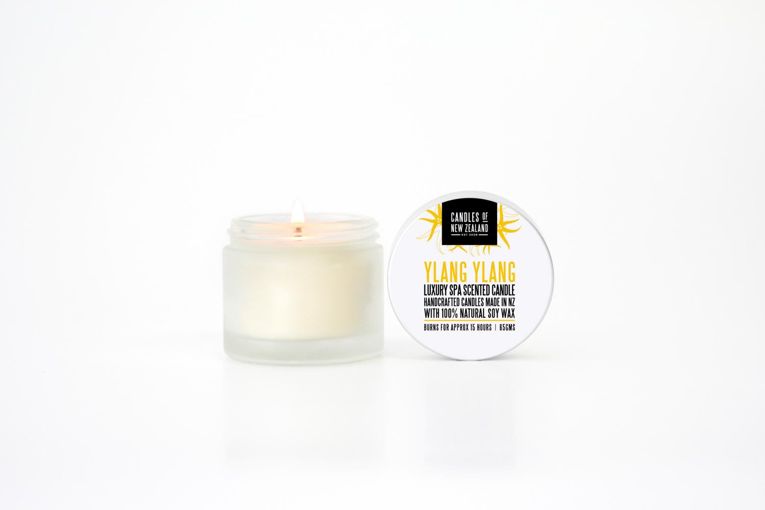 Luxury spa candles frangipani flicker candle emporium for Spa smelling candles